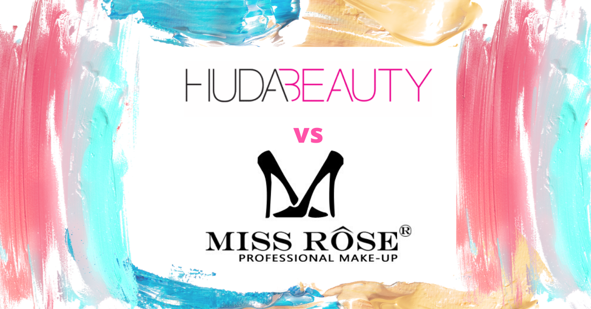 Huda Beauty and Miss Rose – Bio & Original Product Review
