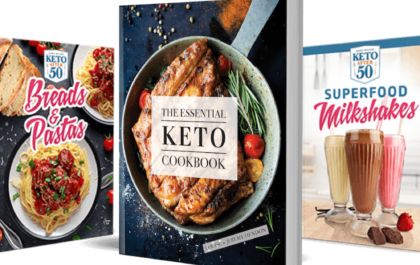 6 Best selling keto recipe books of the year