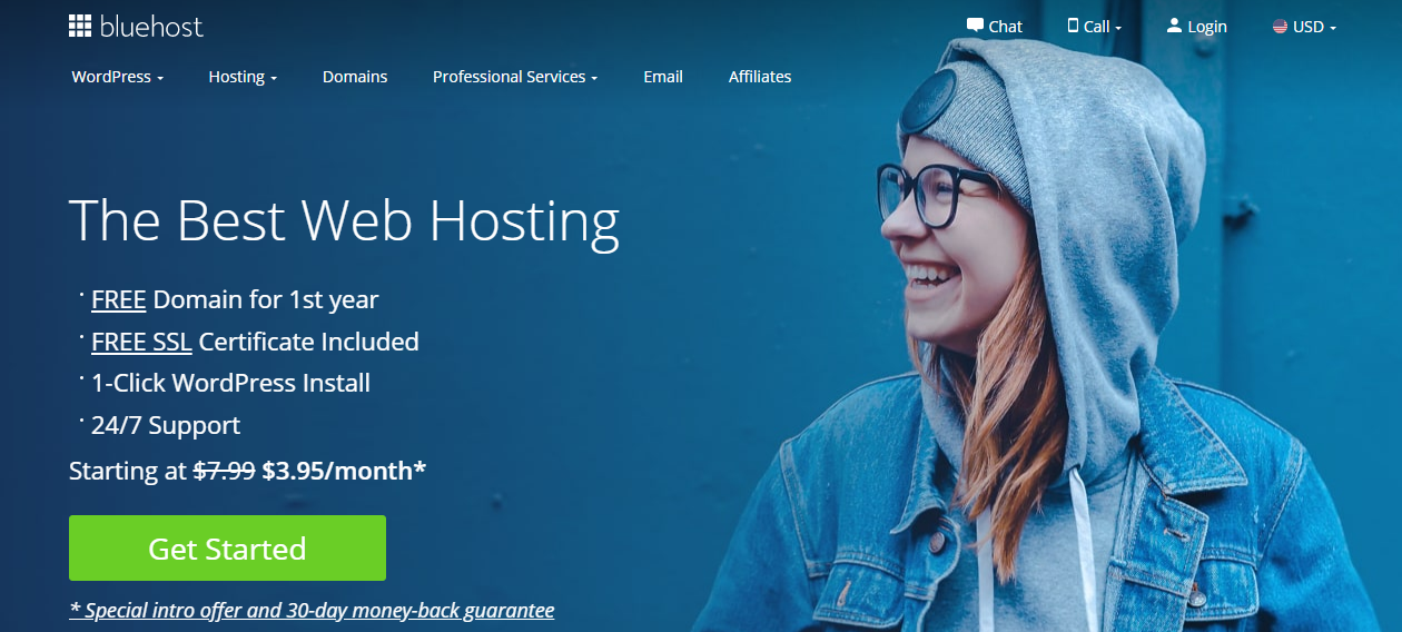 best web hosting bluehost-main-banner