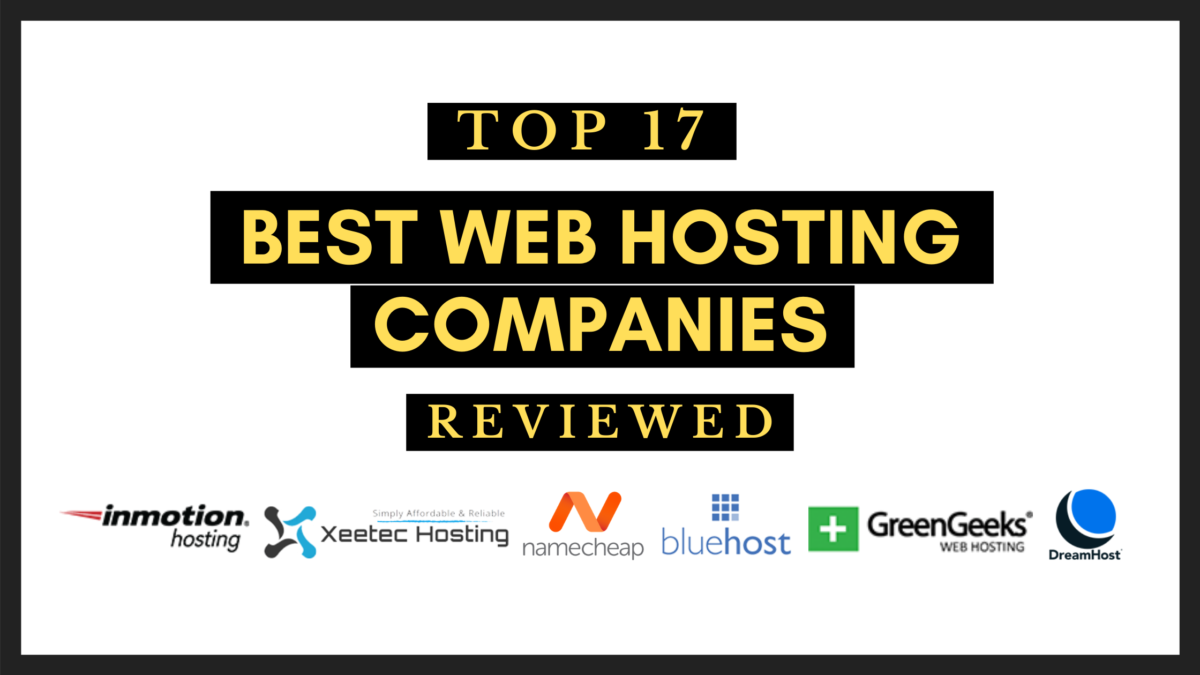 Top 17 Best Web Hosting Sites For Beginners Reviewed