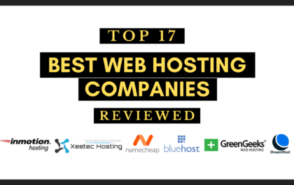 top 17 best web hosting companies reviewed