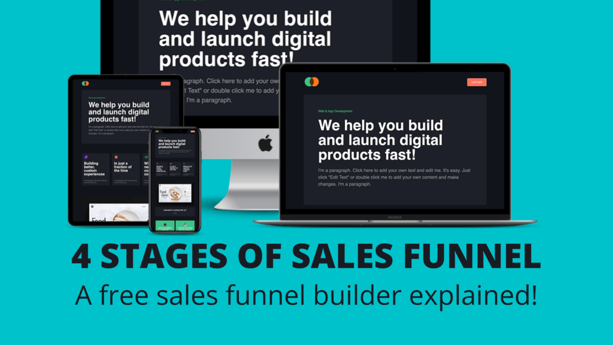 The 4 Important Stages of Sales Funnel | Free Builder Builder Explained