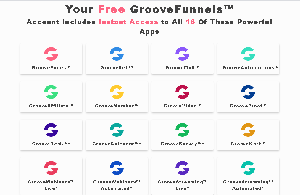 groovefunnels free apps