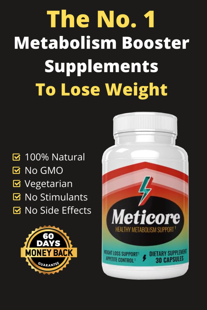 metabolism booster supplements to lose weight