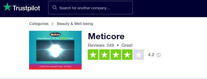 meticore trustpilot reviews
