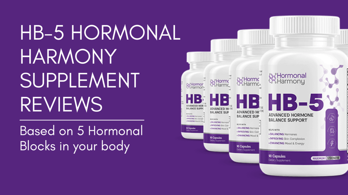 HB5 Hormonal Harmony Reviews   Fix Hormonal Belly In Women